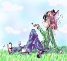 Dec6- Lazy Afternoon by Crysums