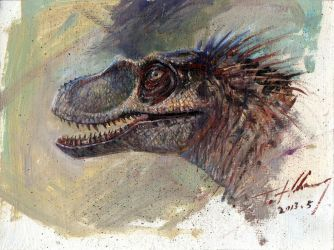 JP3 Female Raptor Head by cheungchungtat