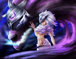 Kindred [League of Legneds] by ReaganLong