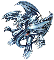 Blue-Eyes Ultimate Dragon png by Carlos123321