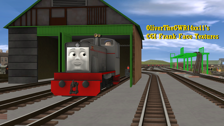 OliverTheGWR14xx11's CGI Frank Face Textures by OliverTheGWR14xx11