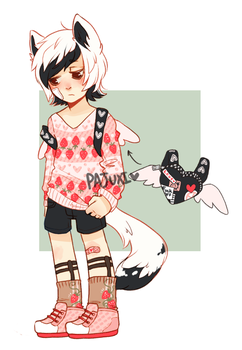 Strawberry babe {not for sale} by Pajuxi-Adopts