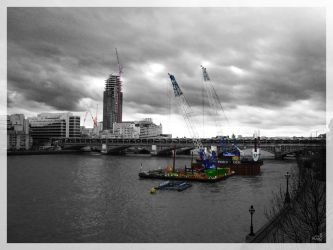 London under construction by vitorhfd