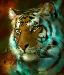 20150904 Tiger Psdelux by psdeluxe
