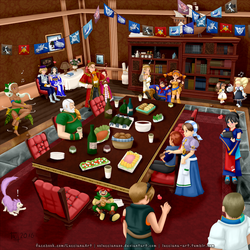 Skies of Arcadia: After show party by oOLuccianaOo
