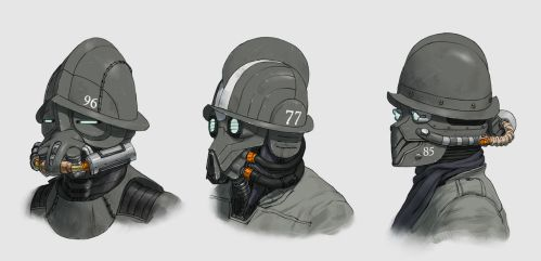 Morions by phiq