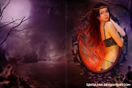 A Long Night(BOOK COVER) by davdajuhi