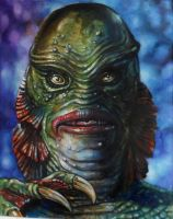 CREATURE FROM THE BLACK LAGOON A2 by Legrande62