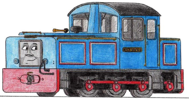 Louise the Miniature Diesel Engine by 01Salty
