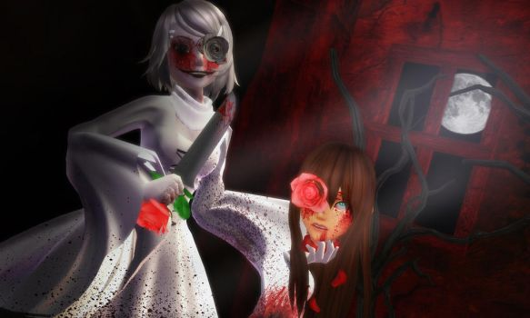 [KHMMD Contest: The White Rose by KairiChan96