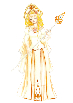 Lisyanthus - The Healer by Sumimi-pyon