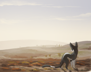 A Cold Day on the Moor by Finchwing