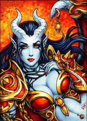 Akasha - Queen of Pain (SFW version) by Candra