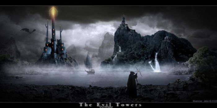 The Evil Towers by uAe-Designer