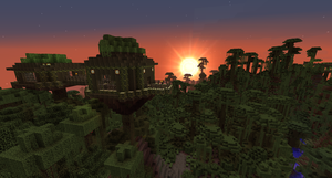 Minecraft Jungle Tree House by Cosmic155