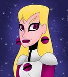 Gift: Saturn Girl by StarSylveon11