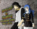 Zeref and Juvia Commission by ZombieGirl01