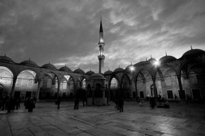 Postcard from Istanbul 1 by JACAC