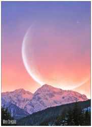 Christmas Moon by Riggs-