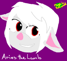 Aries the lamb - smile - by mitchika2