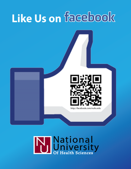Like NUHS on Facebook Flyer by rlcamp