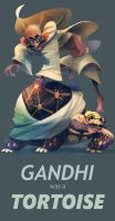 Gandhi was a Tortoise by galgard
