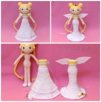 Princess and Neo Queen Serenity Doll with Outfits by xMangoRose