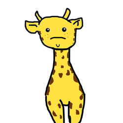 Giraffe by flamecatorwolf
