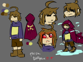 Frisk - ENDTALE (DETERMINATION) by imatrashcan2