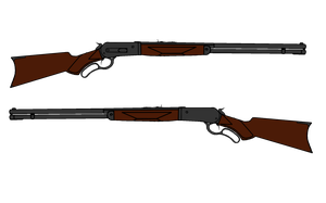 Walfas Winchester Lever-Action Rifle by Spectrum9001