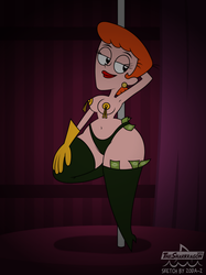 These rubber gloves will not pay for itself, babe! by TSM-Draws