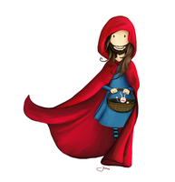 Bearded Red Riding Hood by JEnilorac