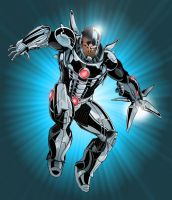 Justice League - Cyborg by TimelessUnknown
