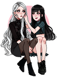 101. Pixel Commission - Penelope x Kim (1/3) by Hyeoii