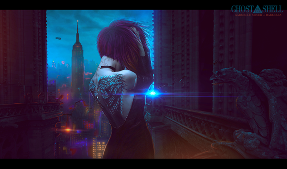 GHOST IN THE SHELL by SilenceInSilver