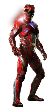 Red Ranger - Transparent by Asthonx1