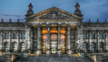 Berlin - Reichstag Building - Detail by pingallery