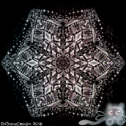 Crystal Lace Star by CatSpaceDesign