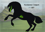 Nordanner Group Horse Import A189 by Cloudrunner64