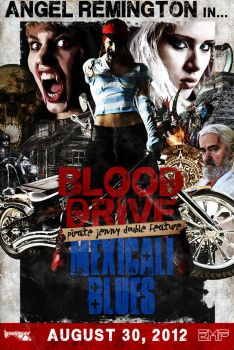 EMP 2012: Blood Drive/Mexicali Blues Poster by heatona