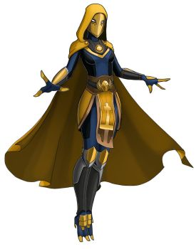 Tali - Doctor Fate by spaceMAXmarine