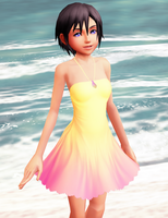 Xion (Seashell Dress) DL by Reseliee