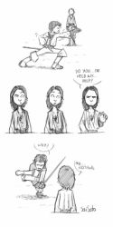 Musketeers BBC_Yoga pose!! by Saisoto