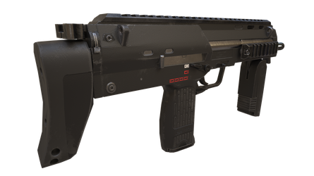 Mp7 Rendered In Nividia Iray by newdeal666