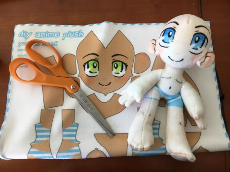 DIY Anime Plush! by plushabilities