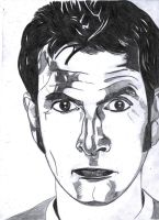 David Tenant from Docteur Who by LOrdalie