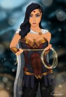 Commission: Wonder Woman by 7caco