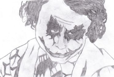 'The Joker' Heath Ledger by Coul2er