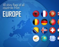 Flag Icons - Europe by antibakteriell