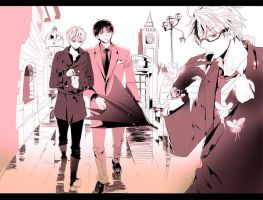 Alfred, Arthur, and I by India-Is-Fabulous